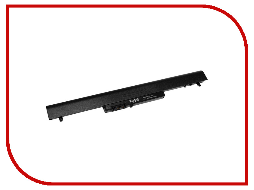 Аккумулятор TopON TOP-HP-S14 14.8V 2200mAh Black для HP Pavilion SleekBook 14/14T/14Z/15/15T/15Z Series аналог PN: L12L4A02/L12L4E01
