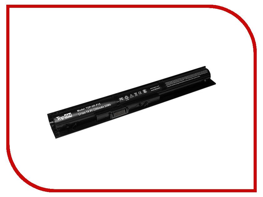 Аккумулятор TopON TOP-HP-P15 14.8V 2200mAh для HP Pavilion 15-p0XX ENVY/17-k0XX ENVY/15-kXXX ENVY/14-u0XX/Pavilion 17-f0XX Series