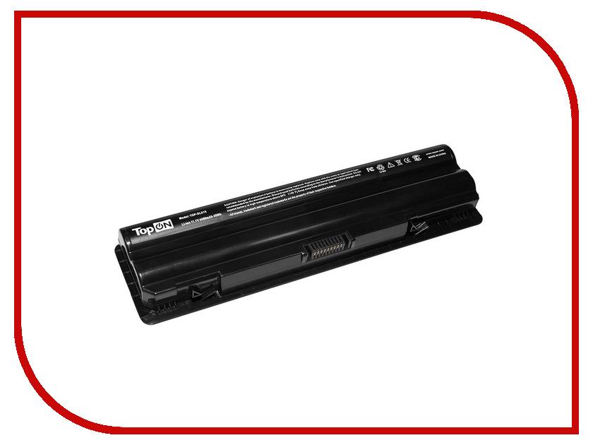 Аккумулятор TopON TOP-DLX15 11.1V 4400mAh для Dell XPS 14/XPS 15/XPS 17/XPS14D/XPS15D/XPS17D Series