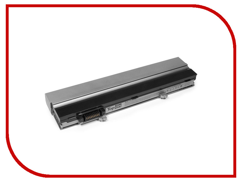 Аккумулятор TopON TOP-DL4300 11.1V 4400mAh Silver для Dell Latitude E4300/E4310n/FM338/R3026/PP13S/0FX8X/23Y0R/312-0822/JD217/MNYJT/PFF30/CP284/CP289/YP459/YP463<br>