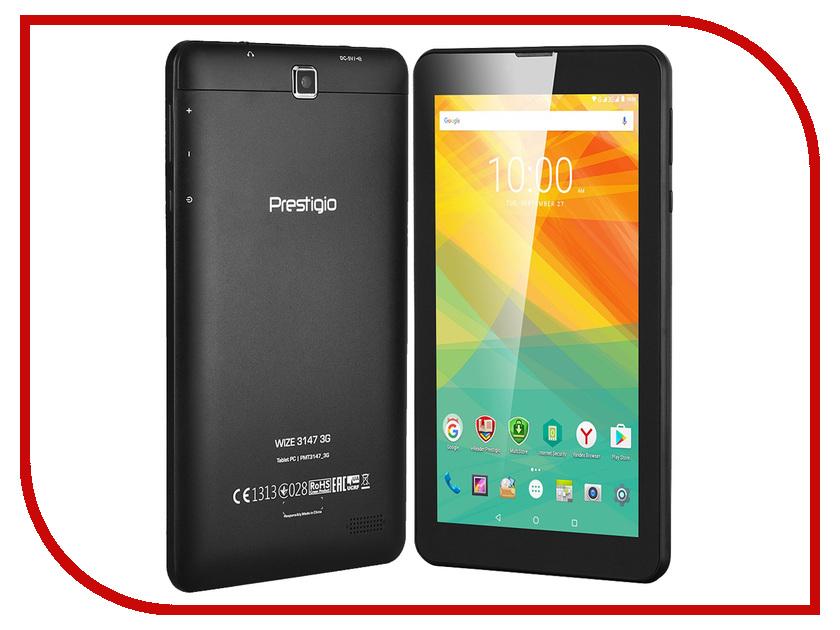 Планшет Prestigio MultiPad WIZE 3147 3G PMT31473GCCIS Black MediaTek MT8321 1.3 GHz/1024Mb/8Gb/3G/GPS/Wi-Fi/Bluetooth/Cam/7.0/1024x600/Android<br>