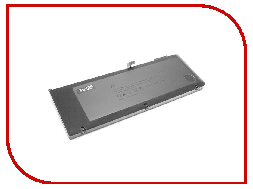 Аксессуар TopON TOP-AP1382 10.95V 5400mAh для APPLE MacBook Pro 15 аналог PN: A1382/661-5476/CS-AM1382NB/020-7134-0 аккумулятор topon top k53 для 10 8v 4400mah pn a32 k53 a42 k53 a43ei241sv sl