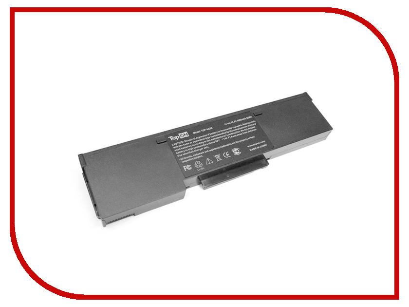 Аккумулятор TopON TOP-AC58 14.8V 4400mAh для Acer Aspire 1520/3010l/Extensa 2001LM/TravelMate 2500 аналог PN: BTP01-003/BTP-84A1/BTP-58A1