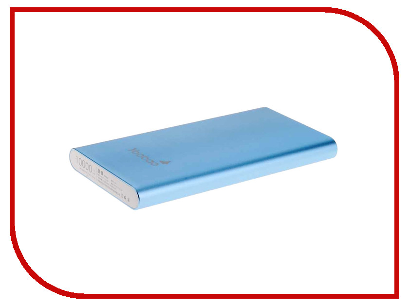 Аккумулятор Yoobao Power Bank 10000 mAh PL10 Air Blue
