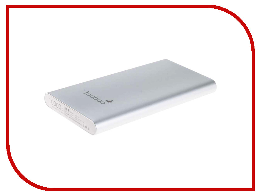Аккумулятор Yoobao Power Bank 10000 mAh PL10 Air Silver