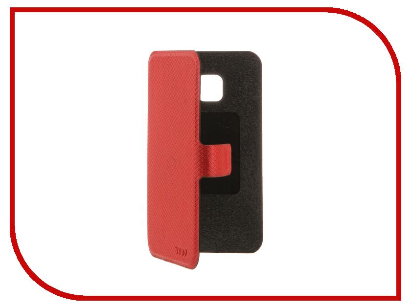 Аксессуар Чехол Samsung Galaxy J1 mini J105 2016 TFN FlipCover Red TFN-BC-05-006PURD<br>