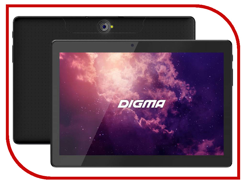 Планшет Digma Plane 1601 3G Black PS1060MG (MediaTek MTK8321 1.3 GHz/1024Mb/8Gb/GPS/Wi-Fi/Bluetooth/Cam/10.1/1280x800/Android) планшет digma plane 1601 3g 1gb 8gb 3g android 5 1 белый [ps1060mg]