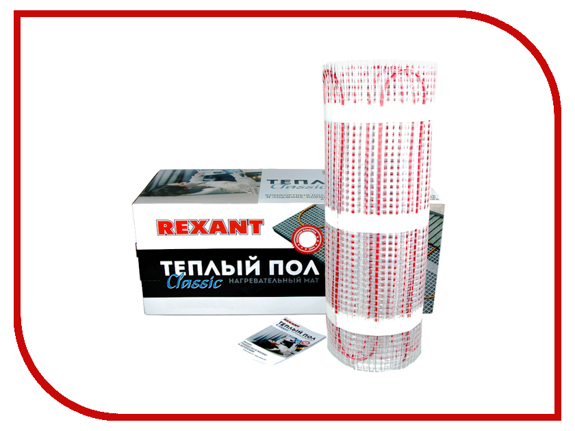 Теплый пол Rexant Classic RNX-9.0-1350 51-0516-2 теплый пол теплолюкс profimat160 10 0