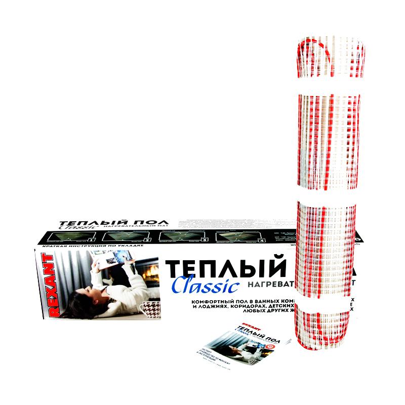 Теплый пол Rexant Classic RNX-1.5-225 51-0503-2 теплый пол rexant 400w 2 5 m2 51 0505
