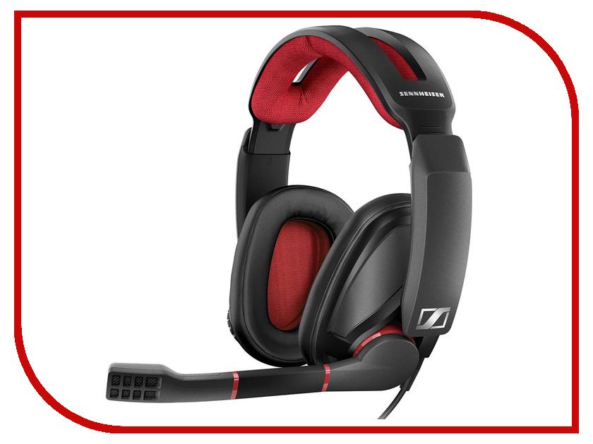 Sennheiser GSP 350 охватывающие наушники sennheiser gsp 350 black red