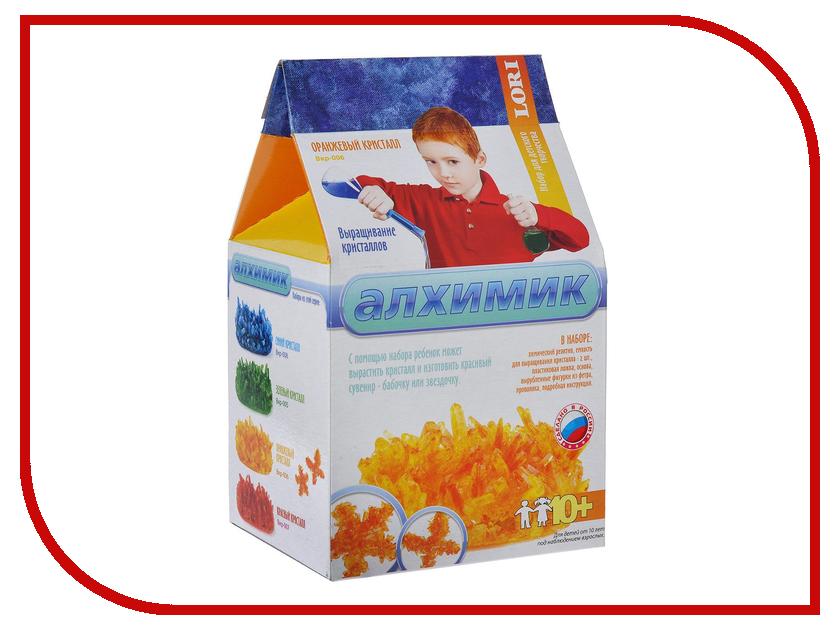 Набор для экспериментов LORI Оранжевый кристалл Вкр-006<br>
