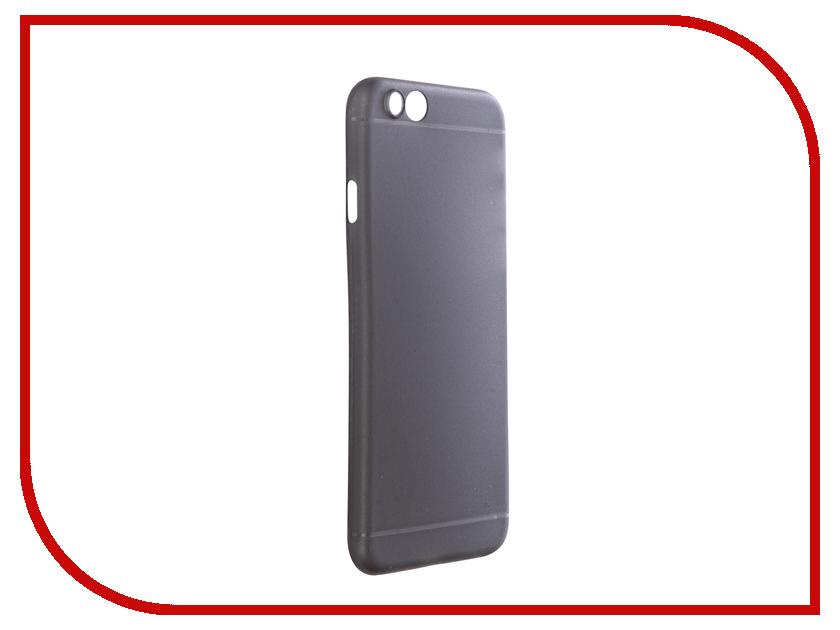 Аксессуар Чехол BoraSCO для iPhone 6 / 6S Black BRS-IPH6-BL-PP<br>