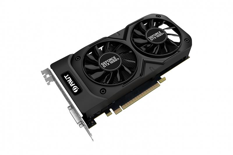 Видеокарта Palit GeForce GTX 1050 Ti Dual OC 1366Mhz PCI-E 3.0 4096Mb 7000Mhz 128 bit DVI HDMI NE5105TS18G1-1071D цена и фото