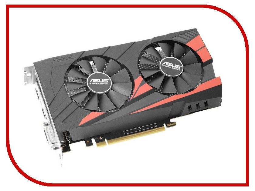 Видеокарта ASUS GeForce GTX 1050 1354Mhz PCI-E 3.0 2048Mb 7008Mhz 128 bit DVI HDMI HDCP EX-GTX1050-2G / 90YV0A82-M0NA00