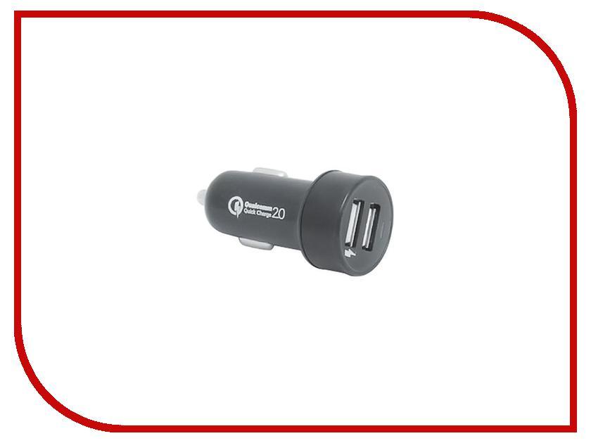 Зарядное устройство Hentington Qualcomm Quick Charge 2.0 2xUSB 1000 mA / 2400 mA HC-2121