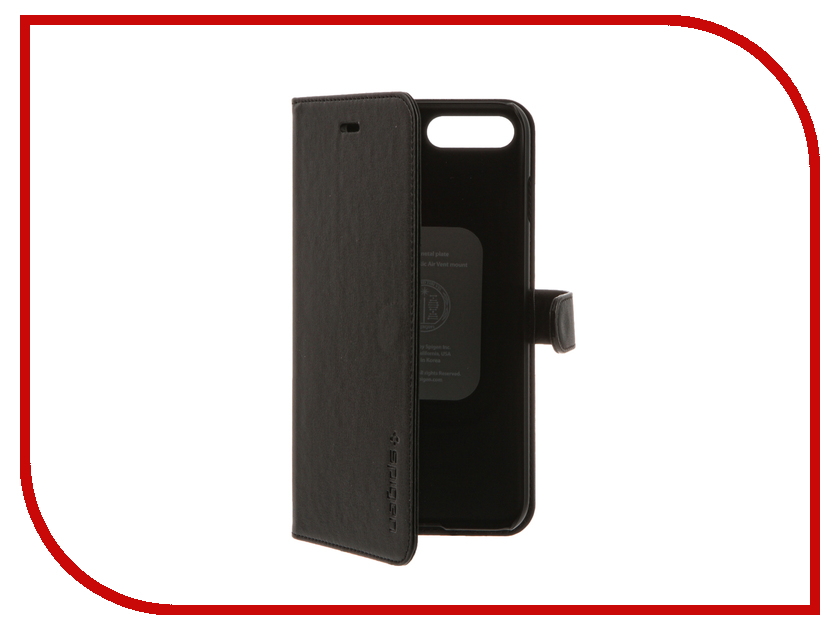 Аксессуар Чехол Spigen SGP Wallet S для APPLE iPhone 7 Plus Black 043CS20543<br>