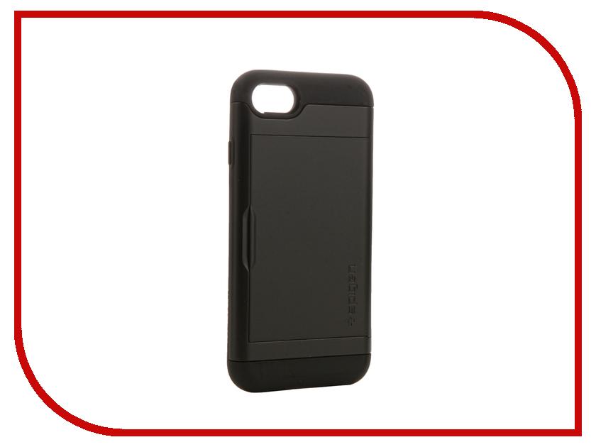 Аксессуар Чехол Spigen SGP Slim Armor CS для APPLE iPhone 7 Black 042CS20455<br>