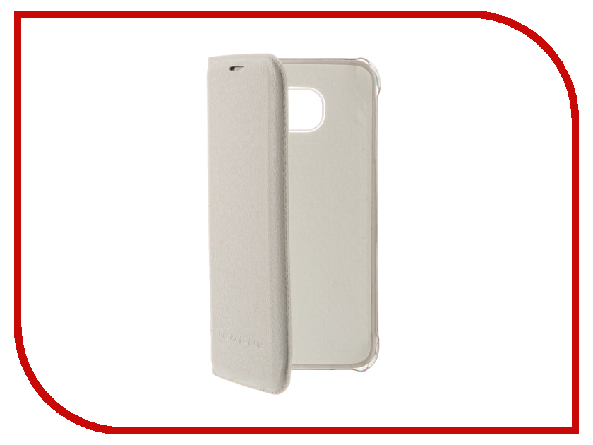 Аксессуар Чехол Samsung Galaxy S7 Edge Apres Flip PU Leather Case Cover White<br>
