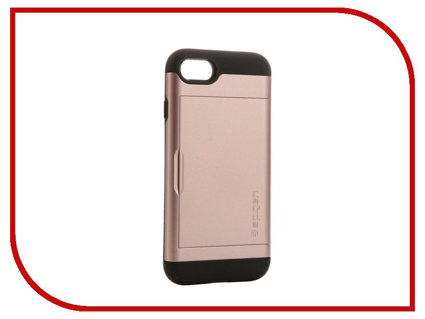 Аксессуар Чехол Spigen SGP Slim Armor CS для APPLE iPhone 7 Rose Gold 042CS20454<br>
