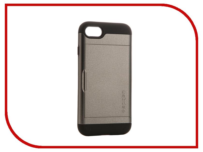 Аксессуар Чехол Spigen SGP Slim Armor CS для APPLE iPhone 7 Steel 042CS20453 чехол накладка iphone 6 6s 4 7 lims sgp spigen стиль 4 580078