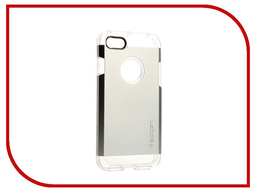 Аксессуар Чехол Spigen Tough Armor для APPLE iPhone 7 Silver 042CS20672 чехол накладка iphone 6 6s 4 7 lims sgp spigen стиль 10 580085