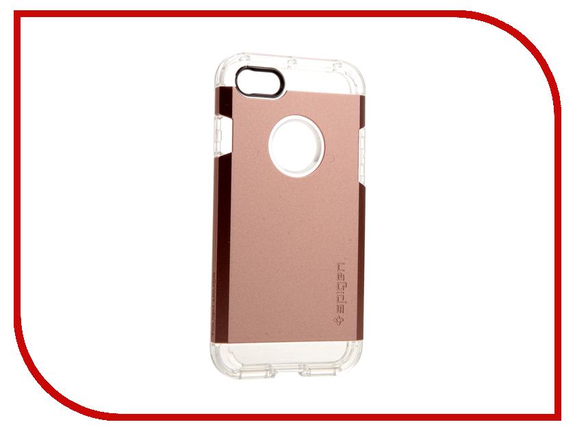 Аксессуар Чехол Spigen SGP Tough Armor для APPLE iPhone 7 Rose Gold 042CS20492 чехол накладка iphone 6 6s 4 7 lims sgp spigen стиль 4 580078