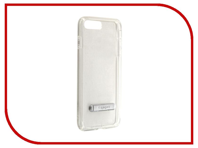 Аксессуар Чехол Spigen SGP Ultra Hybrid S для APPLE iPhone 7 Plus Crystal Clear 043CS20754 чехол накладка 580077 iphone 6 6s 4 7 lims sgp spigen стиль 3