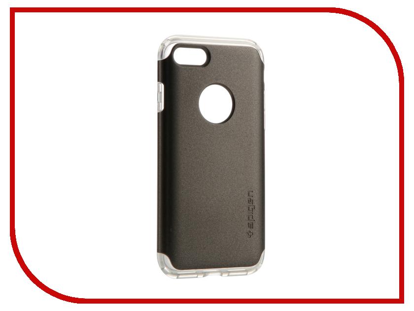 Аксессуар Чехол Spigen Hybrid Armor для APPLE iPhone 7 Steel 042CS20693 чехол накладка чехол накладка iphone 6 6s 4 7 lims sgp spigen стиль 7 580081