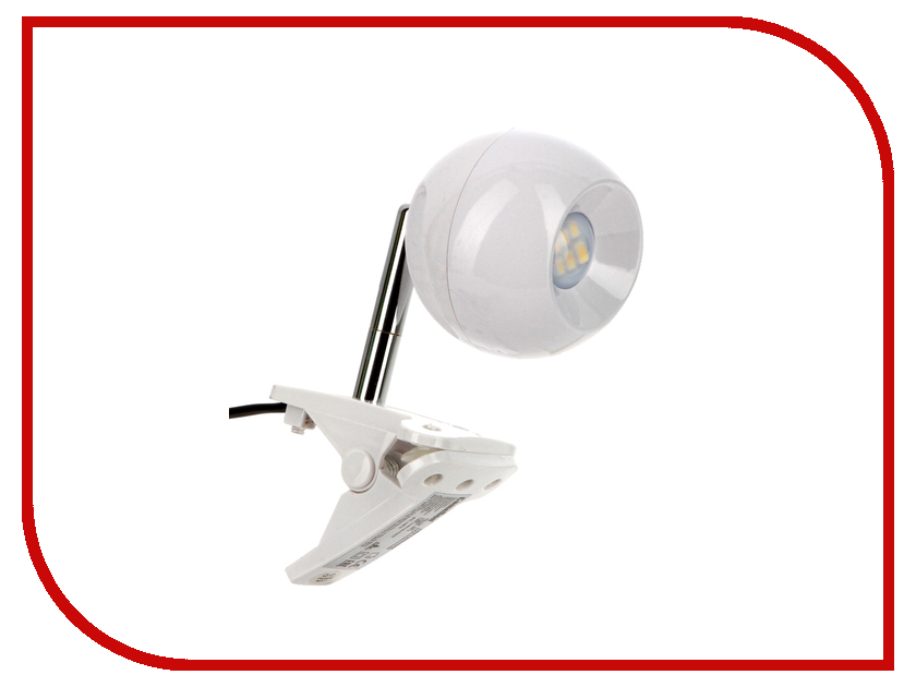 Лампа Camelion KD-798 C01 White  настольный светильник camelion kd 308 c01 white