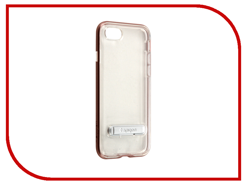 Аксессуар Чехол Spigen SGP Crystal Hybrid для APPLE iPhone 7 Rose Gold 042CS20461<br>