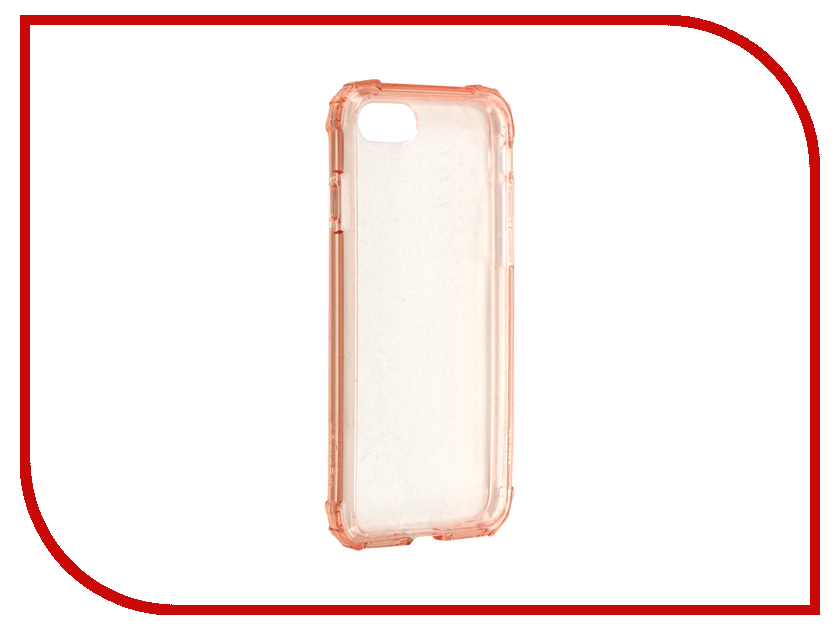 Аксессуар Чехол Spigen SGP Crystal Shell для APPLE iPhone 7 Pink Crystal 042CS20308 чехол накладка iphone 6 6s 4 7 lims sgp spigen стиль 8 580082