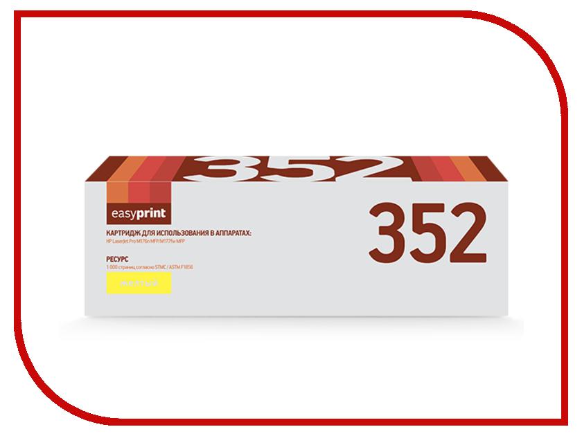 Картридж EasyPrint LH-352 для HP LaserJet Pro M176n MFP/M177fw MFP Yellow<br>