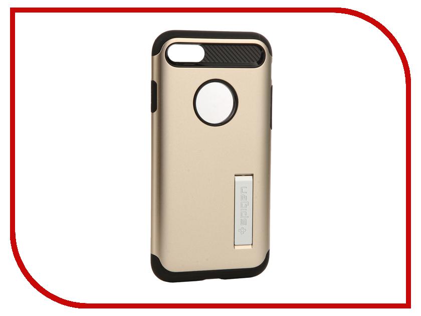 Аксессуар Чехол Spigen SGP Slim Armor для APPLE iPhone 7 Gold 042CS20302<br>