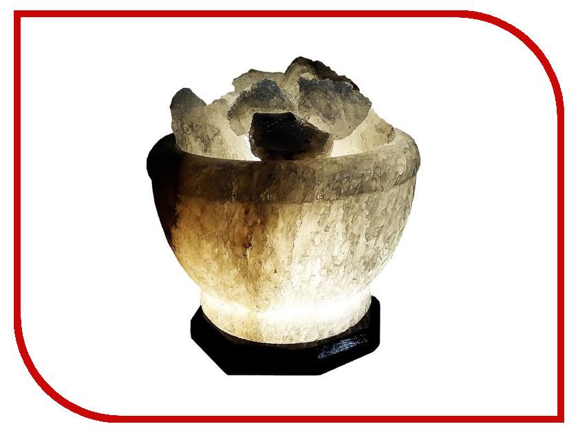 Солевая лампа СИМА-ЛЕНД Чаша огня 4-6кг 1733373