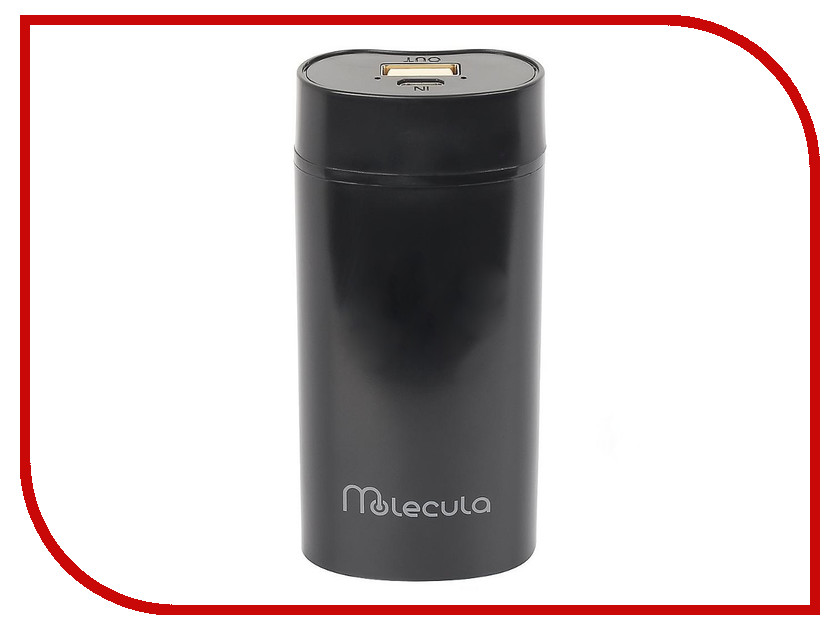 Аккумулятор Molecula Power Bank PB-5.2-03 5200mAh Black special offer tea manufacturers derect selling authentic high horse egaomaerxi tea anhua jinhua fuzhuan tea 700g