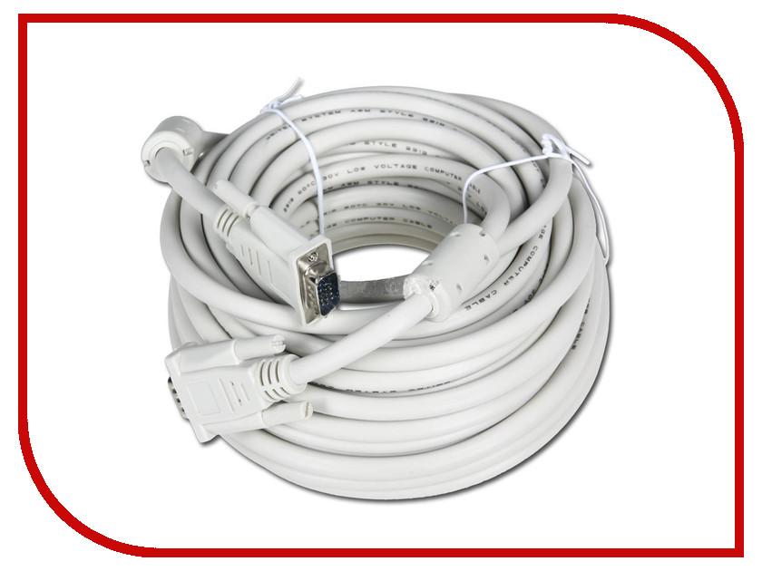 Аксессуар 5bites VGA 15M / VGA 15M 15m APC-133-150 White профессиональная пассивная акустика eurosound port 15m