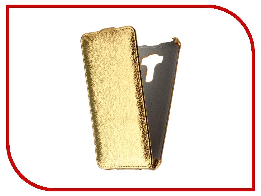 Аксессуар Чехол Asus Zenfone 3 Laser ZC551KL Zibelino Classico Gold ZCL-ASU-ZC551KL-GLD аксессуар чехол asus zenfone go tv zb551kl zibelino classico black zcl asu zb551kl blk
