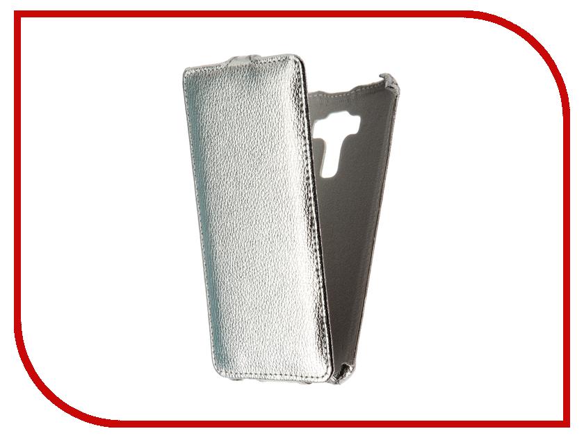 Аксессуар Чехол Asus Zenfone 3 Laser ZC551KL Zibelino Classico Silver ZCL-ASU-ZC551KL-SLV<br>