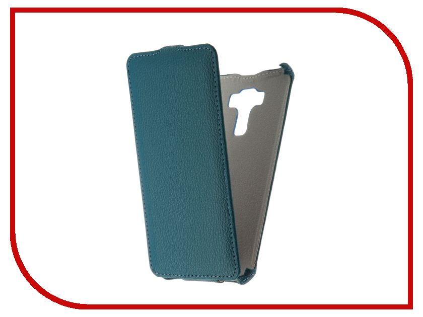 Аксессуар Чехол Asus Zenfone 3 Laser ZC551KL Zibelino Classico Turquoise ZCL-ASU-ZC551KL-TQS<br>
