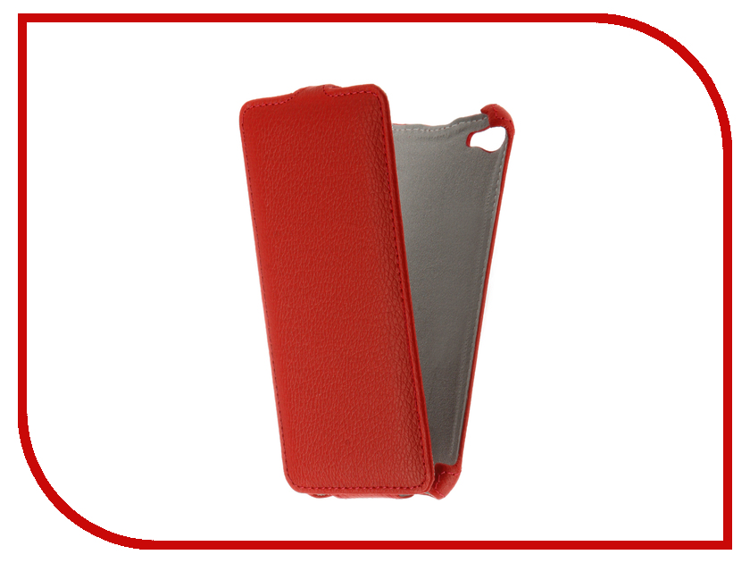 Аксессуар Чехол Meizu U10 Zibelino Classico Red ZCL-MZ-U10-RED<br>