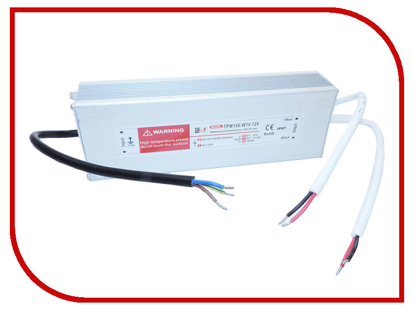 Блок питания SWGroup Al TPW 150W 12V блок питания crixled crp vn150 12 12 5a 150w 12v