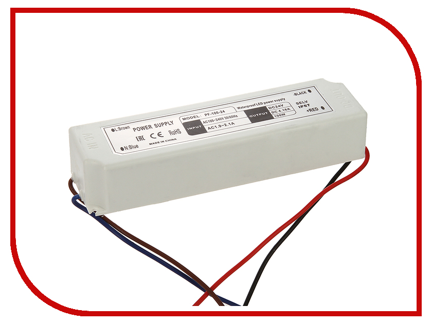 Блок питания SWGroup IP67 100W 24V<br>
