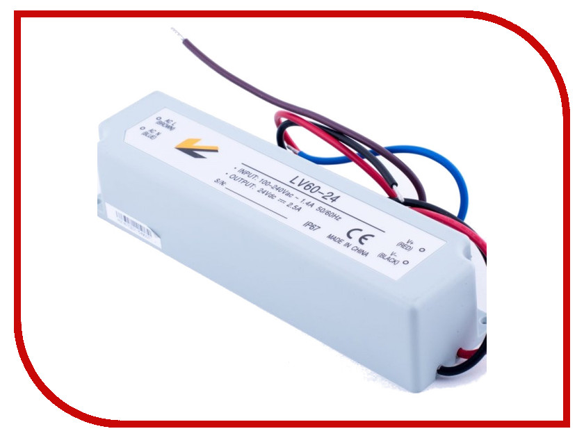 Блок питания SWGroup IP67 60W 24V<br>