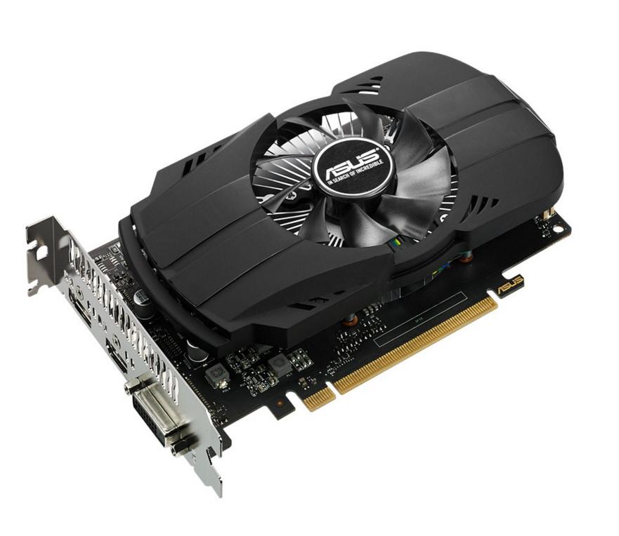 Видеокарта ASUS GeForce GTX 1050 Ti Phoenix 1290Mhz PCI-E 3.0 4096Mb 7008Mhz 128 bit DVI HDMI HDCP PH-GTX1050TI-4G / 90YV0A70-M0NA00 видеокарта inno3d geforce gtx 1050 ti twin x2 1290mhz pci e 3 0 4096mb 7000mhz 128 bit dvi hdmi hdcp n105t 1ddv m5cm