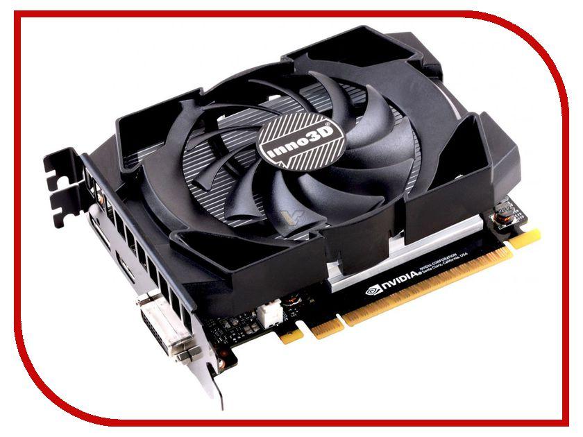 Видеокарта Inno3D GeForce GTX 1050 Ti Compact 1290Mhz PCI-E 3.0 4096Mb 7008Mhz 128 bit DVI HDMI HDCP N105T-1SDV-M5CM