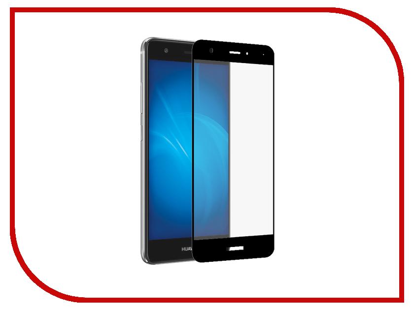все цены на Аксессуар Закаленное стекло для Huawei Nova DF Full Screen hwColor-04 Black