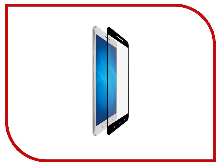 Аксессуар Закаленное стекло Xiaomi Mi Max DF Fullscreen xiColor-03 Black<br>