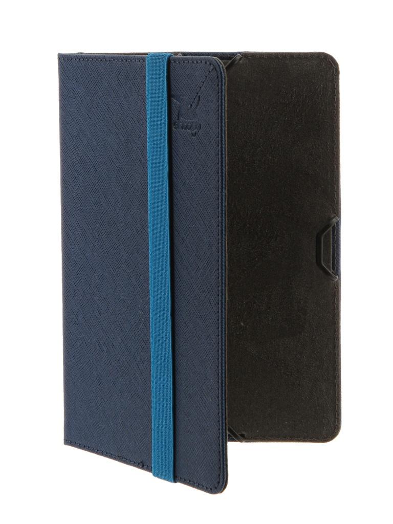 Аксессуар Чехол Snoogy для PocketBook 614/615/624/625/626/640 иск.кожа Blue SN-PB6X-BLU-LTH