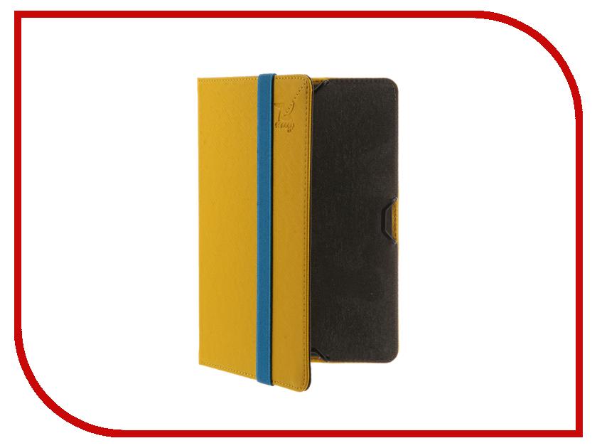 Аксессуар Чехол for PocketBook 614/615/624/625/626/640 Snoogy иск.кожа Yellow SN-PB6X-YEL-LTH