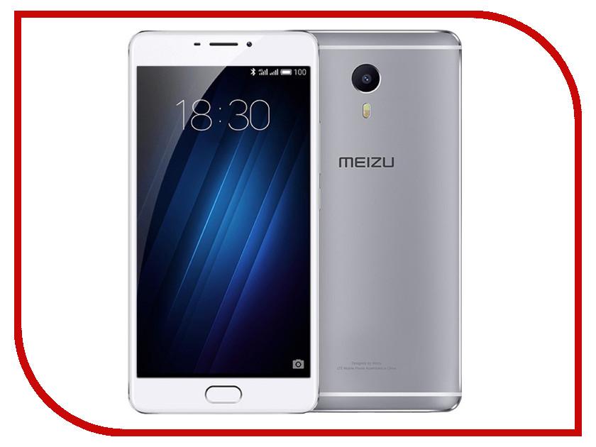 Сотовый телефон Meizu M3 Max 64Gb Silver<br>